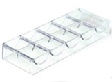 100 Chip Acrylic Chip Tray